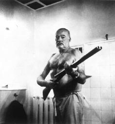 the life of ernest hemingway and its impact on his works Docudrama explores some events that shaped the life and writing of ernest  hemingway touches on his boyhood, the influences of world war i, the running  of.